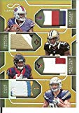 Football NFL 2016 Infinity RPS Quad Materials Prime #2 Braxton Miller/Cardale Jones/Joey Bosa/Michael Thomas MEM /8