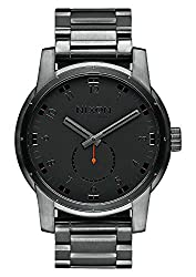 Nixon Men's A937632 Patriot Analog Display Swiss Quartz Grey Watch
