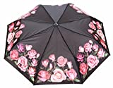 Sun Brand Faye 1- Automatic Open 3 Fold Umbrella