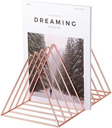 Simmer Stone Magazine Organizer Triangle product image