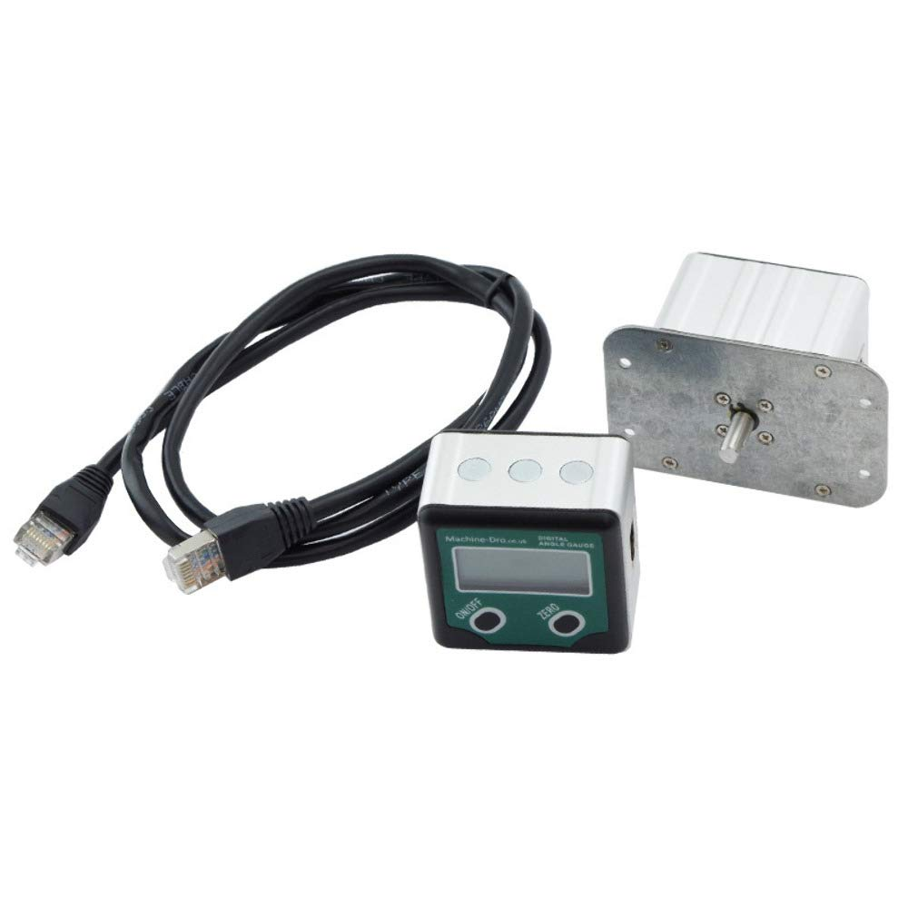 Rotary Angle Encoder and Remote Display, with a 6mm diameter shaft. M-DRO