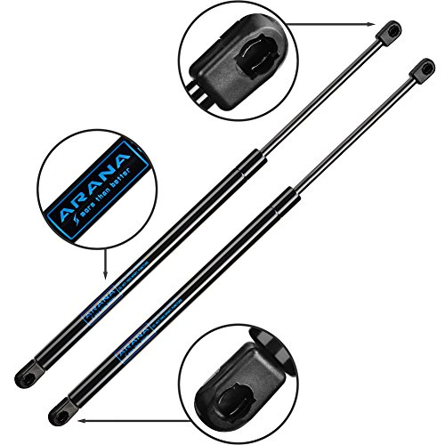 - 2pcs ARANA 4369 Gas Charged Rear Glass Window Lift Support for 2001-2007 Ford Escape | 2005-2007 Mercury Mariner