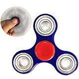 Tri-spinner Fidget Toy with Ultra Fast Preminum Bearing, ADHD EDC Fidget Toy, Durable Fidget Spinner Stress Reducer, Novelty Hand Spinning Tops, Smooth Surface, Dirty Resisant