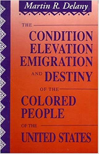 the condition elevation emigration and destiny of the colored people of the united states - Colored People Book