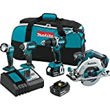 Makita XT446T 18V LXT Lithium-Ion Brushless Cordless Combo Kit (4 Piece) Reviews