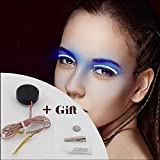 Christmas Gift LED Eyelashes Waterproof for Nightclub Light [1 Pair] men women