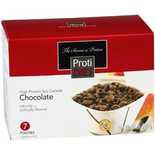 (ProtiDiet High Protein Chocolate Cereal (7 Servings/Box))