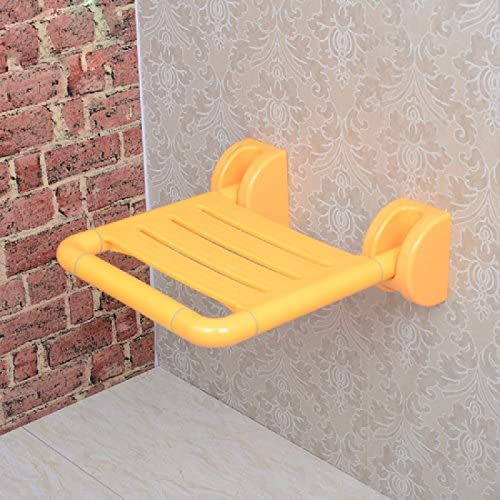 浴室用手すり 安全バスルームは折り畳み椅子の壁の椅子の老人の壁の椅子の折り畳み椅子の入浴椅子を折り畳みます,白
