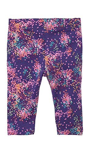 Price comparison product image OFFCORSS Baby Girls Newborn Colored Capri Patterned Cotton Leggings Summer Spring Clothes Ropa de Bebe Niña Recien Nacida Purple Morado 12 Months