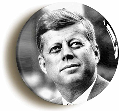 Jfk Costumes (John F Kennedy Button Pin (Size is 1inch diameter) JFK Sixties Democrat President)
