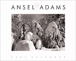 ansel adams 2007 wall calendar