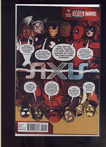 marvel axis variant - 1
