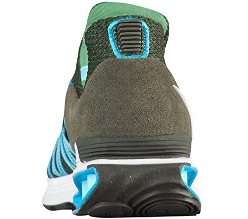 Nike Shox Zwaartekracht Heren Ar1999-300 Sequoia / Wit-off-white Lt Blue Fury