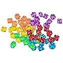 SONONIA 約60個入り 6色 D&D TRPGゲーム ボードゲーム アクリル  D10 サイコロ 10面ダイスの商品画像