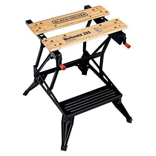 Legs Work Centers - BLACK+DECKER WM225-A Portable Project Center and Vise