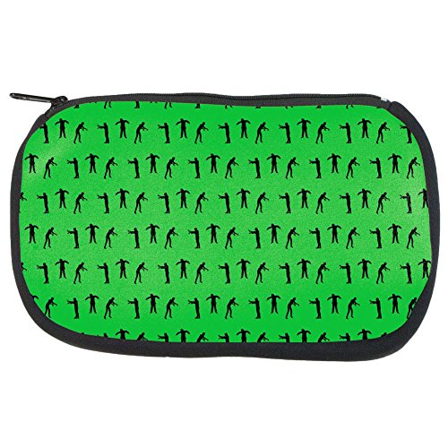 Halloween Zombie Guy Walker Pattern Makeup Bag Multi Standard One (Halloween Zombie Makeup For Guys)
