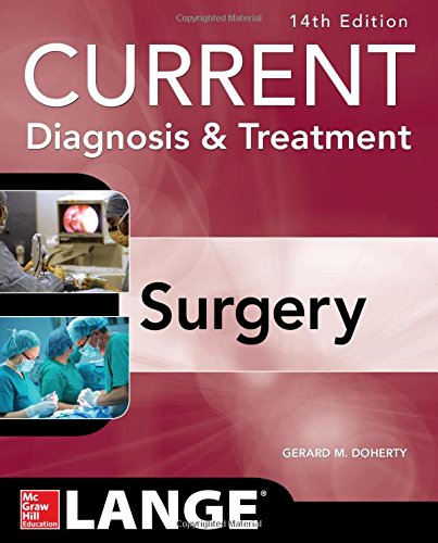 Current Diagnosis and Treatment Surgery 14/E