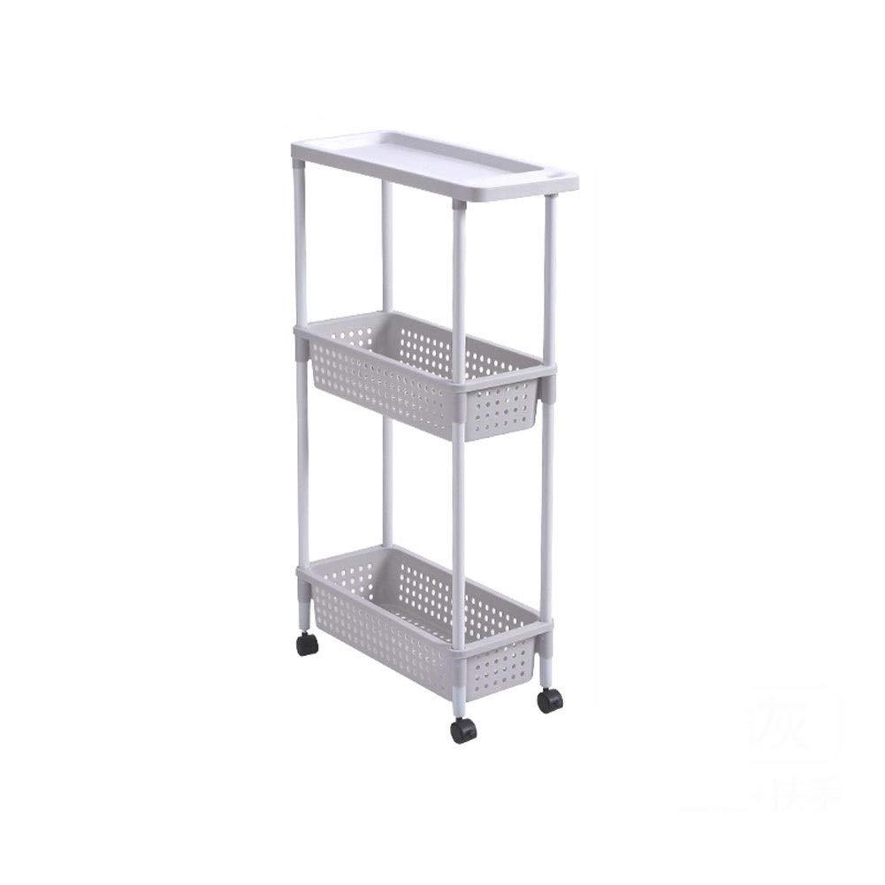 Kitchen shelf pulley movable shelf heightening load-bearing ventilation drainage (Color : 17.55086.5cm)