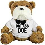 Dat Ass Doe Cute Dog Valentine: Medium Plush Bulldog