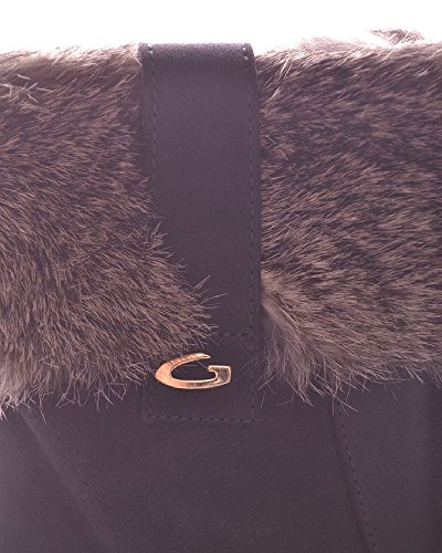 Bleu Guardiani Femme Suède Bottines Alberto MCBI072003O pWwAYa0qwB