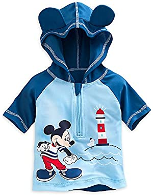 Disney Mickey Mouse Baby Boys' Rash Guard Shirt