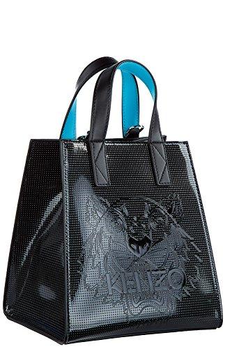 Estilo De Moda Kenzo borsa donna a mano shopping tote nuova tiger nero Sitio Oficial Envío Libre Más Barato Realmente En Línea qtA1eaO