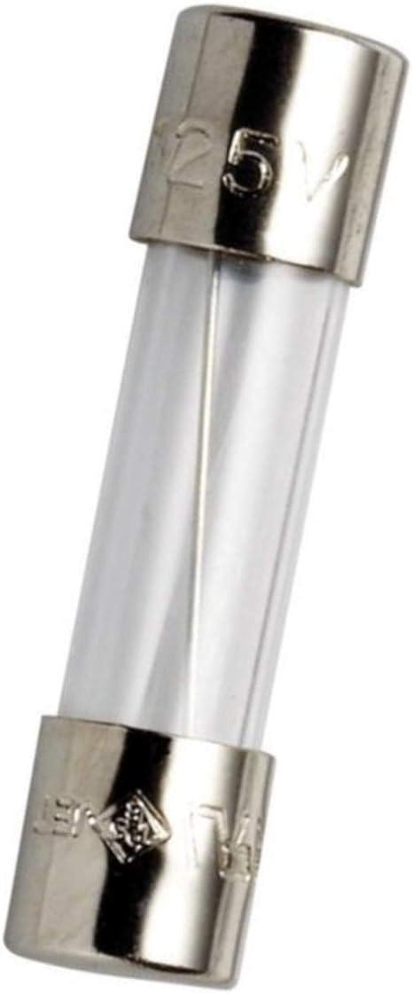 20 Fuses 630mA Fine Fuses 5x20 mm 0,63A Flink 0,63 a 630 MA 082067