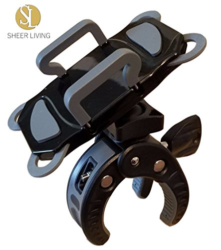 SL-30 Smart Phone Holder for Baby Stroller | Mount Clamp for Pram or Buggy | Apple iPhone, Samsung Galaxy or Note, Google Pixel, LG, HTC, Moto (Buggy Smart Stroller)