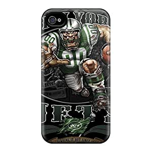 Marycase88 Iphone 6 Best Hard Phone Case Allow Personal Design Nice New York Jets Pattern [PWo5027tTXH]