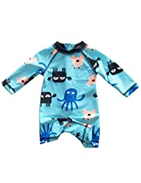eKooBee Infant Baby Boys Sunsuits Rash Guard Swimsuit Swimwear UPF 50+ Sun Protection