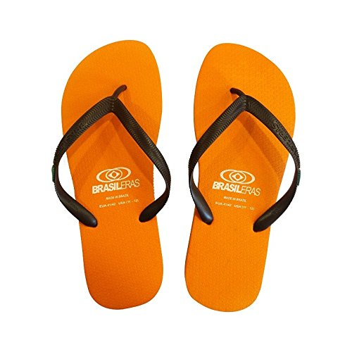 Varios Clasica Brown Orange Combi Chanclas Colores Unisex NL Brasil Brasileras Adulto 0dqTB0