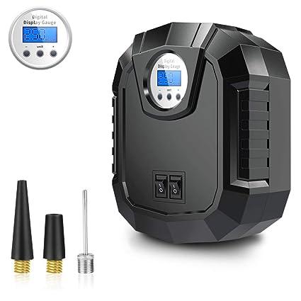 LED Digital Display Tire Tyre Inflator DC 12V Car Air Compressor Pump 150 PSI