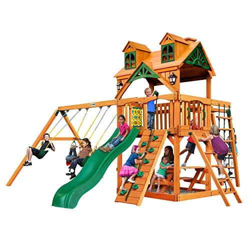 - Gorilla Playsets Malibu Navigator Swing Set