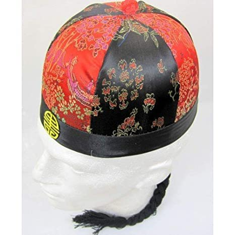 Amazon.com  Chinese Merchant Round Hat Decorated 61 by CCC  Home ... fb2afd5b7294