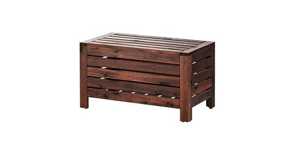 Amazon.com: IKEA – banco de almacenamiento, al aire última ...
