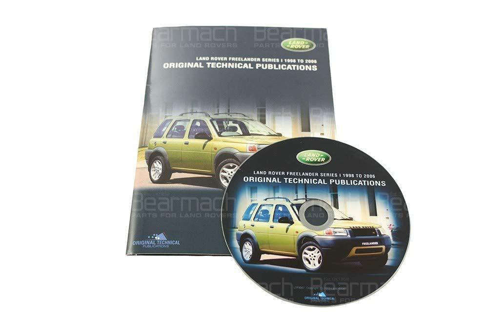 BEARMACH OEM - Parts CD - Freelander 1 1998-2006 Part# LTP3007