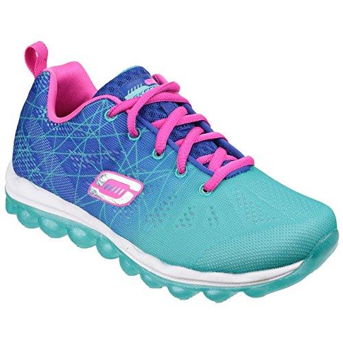 Skechers Skech Air- Laser Lite - Zapatillas de deporte para niñas Azul/Aqua