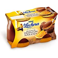 LA LECHERA delicias de trufa con naranja pack 2 unidades 125 gr
