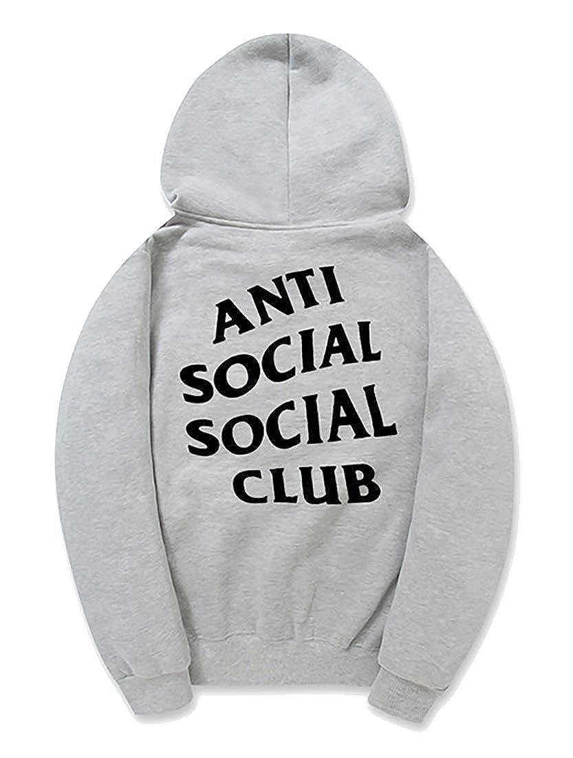 WO-STAR Unisex Antisocial Social Club Hoodie Kanye West Hoodie