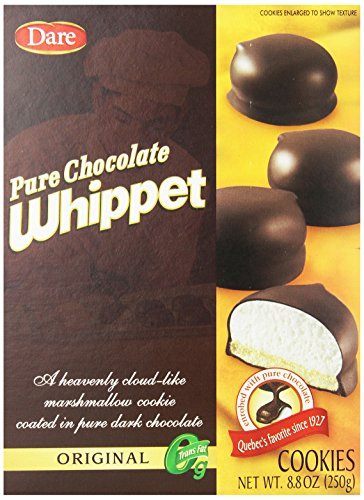 Chocolate Coated Cookies - Dare Whippet Cookies, Original, 8.8 Ounce