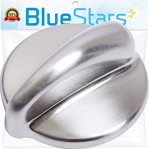 Ultra Durable WB03K10303 Cooktop Control Knob Replacement Part by Blue Stars- Exact Fit for General Electric Range - Replaces 1810427 AP4980246 ()
