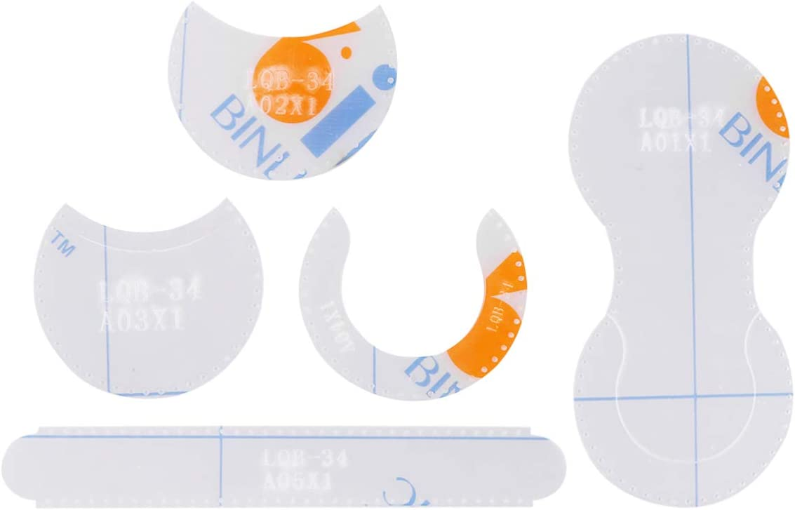 HEALLILY Sac /à Main en Cuir Mod/èle Acrylique Outils de D/écoupe Bricolage Mod/èle de Pochoir en Cuir Z/éro Mod/èle Ensemble Outil de Bricolage Artisanal Blanc