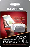 Samsung MicroSD EVO Plus Series 100MB/s (U3) Micro SDXC Memory Card with Adapter MB-MC256GA (256GB)