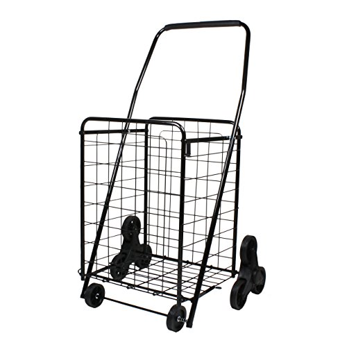 Helping Hand Folding 3 Wheel Stair Climbing Cart, -