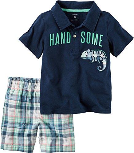 Carters 2 Piece Handsome Shirt Plaid