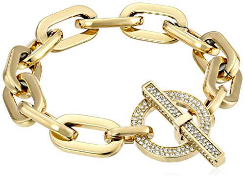 Michael Kors Gold-Tone Toggle Link Bracelet