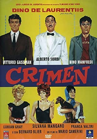 Crimen: Amazon.it: Sordi/Gassman, Sordi/Gassman: Film e TV