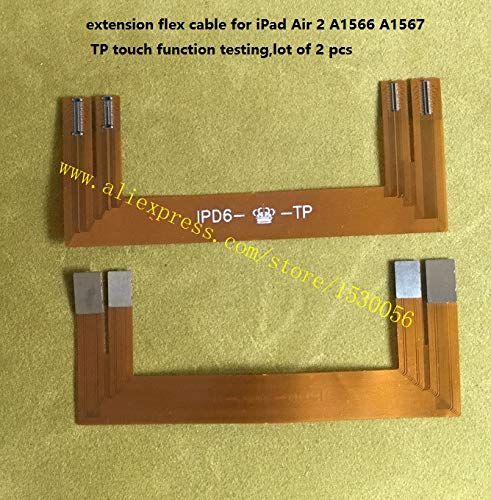 Gimax extension flex cable for iPad Air 2 A1566 A1567 TP touch function testing,lot of 2 pcs