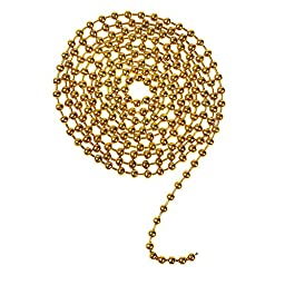 5 color 196 inch Ball Chain Necklaces 15 Foot - 3.2mm Ball (#6 Size) and 50 pcs ball chain connector clasps For Jewelry Findings Key Chains Tags Brag Tags Pendant Necklaces