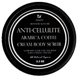 The Best Arabica Coffee Cream Body Scrub Anti-Cellulite with Caffeine Great for Dry, Rough And Sensitive Skin Provides firming, Skin Radiant, Contains 100% All Natural 3.5 Oz offers